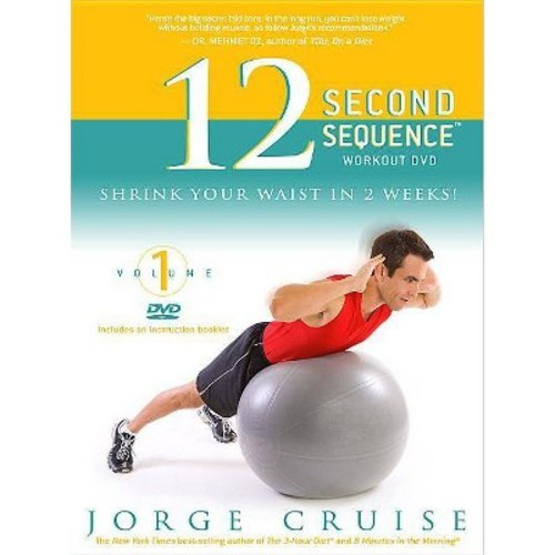 The 12 Second Sequence Workout Dvd: Shrink Your Waist in 2 Weeks (DVD video)