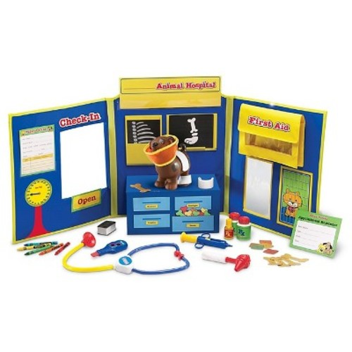 Learning Resources Pretend and Play Animal Hospital