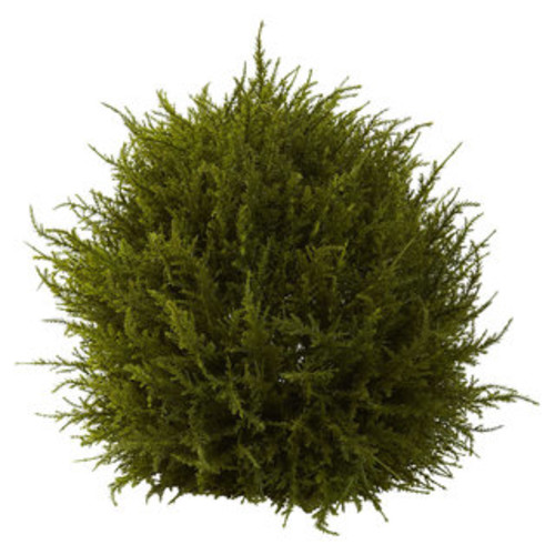 Nearly Natural Artificial Plants 32-inch Cedar Ball Topiary