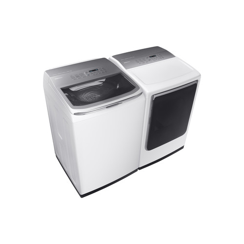 Samsung Activewash 5.2-cu ft High-Efficiency Top-Load Washer (White) ENERGY STAR