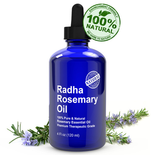 Radha Beauty Aromatherapy & Massage Radha Beauty 4-ounce Rosemary Oil