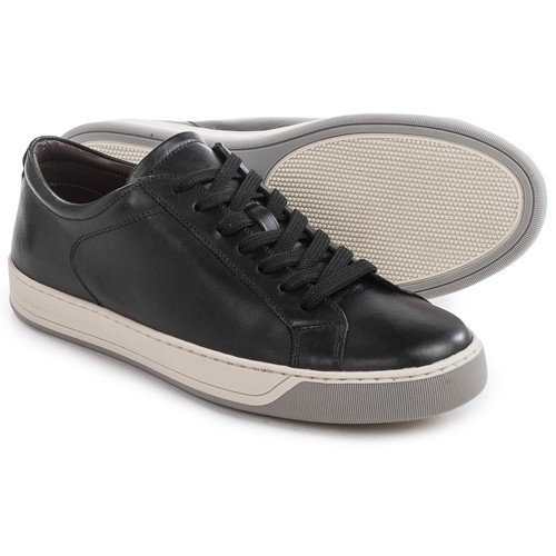 A. Testoni Glove Calf Sneakers - Leather (For Men) [width: M]