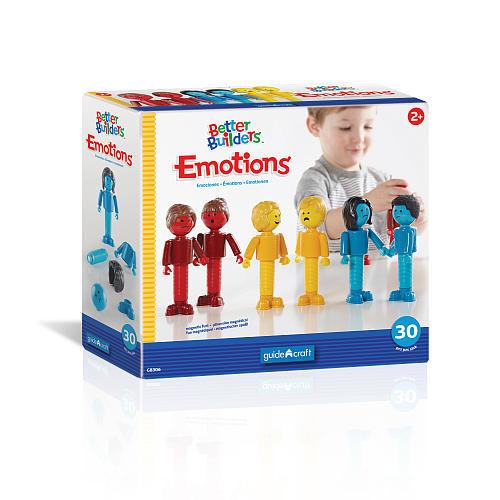 Better Builders Emotions 30 Piece Construction Set