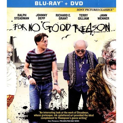 For No Good Reason [2 Discs] [Blu-ray/DVD] [2012]