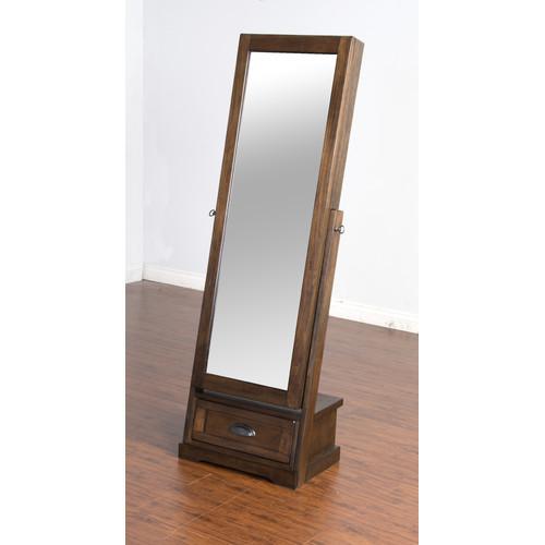 Birney Jewelry Armoire with Mirror