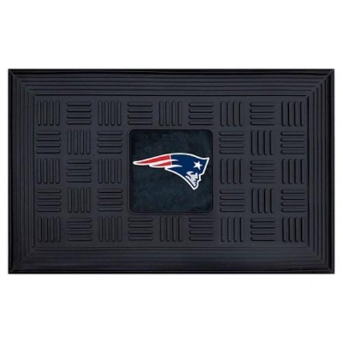 England Patriots Fanmats Door Mat Black