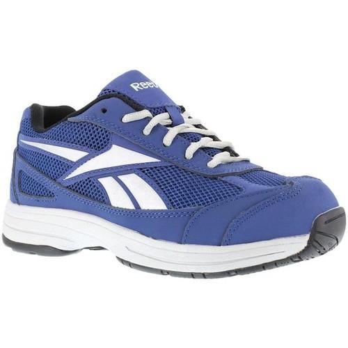 Reebok Ketee Reflective Athletic Cross Trainer - Blue with Silver/Grey Trim [width : Medium]