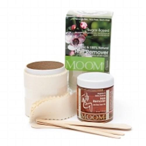 Moom Organic Hair Removal Kit Tea Tree