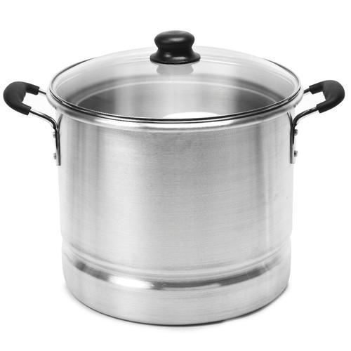 Imusa 16-Quart Steamer Pot & Glass Lid