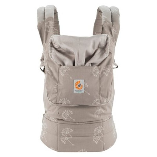 Ergobaby Organic Ergonomic Multi-Position Dandelion Baby Carrier - Taupe