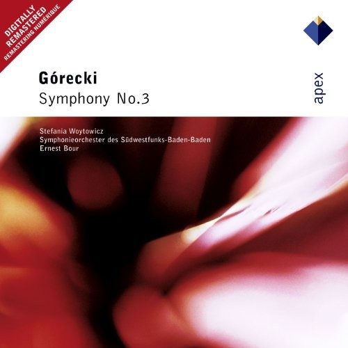 Grecki : Symphony No.3, 'Symphony of Sorrowful Songs'