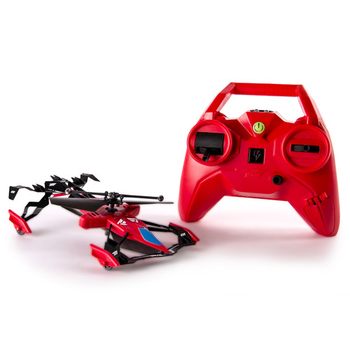 Air Hogs 6027807 Switchblade Ground and Air Race RC Heli - Red