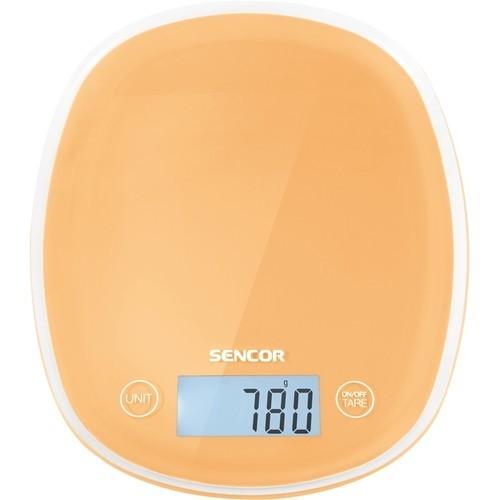 Sencor - Pastel Kitchen Scale - Peach orange