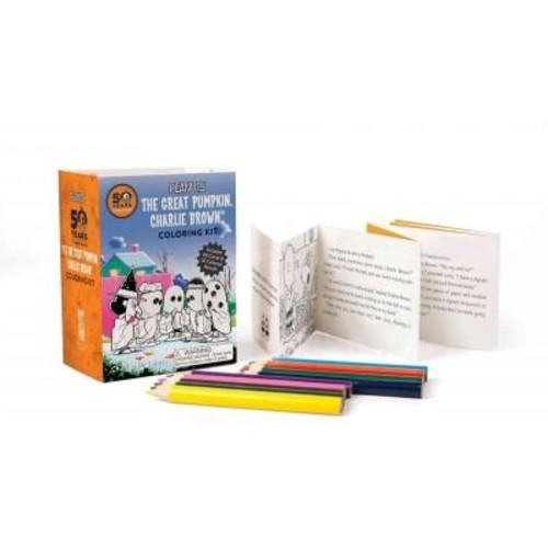 Peanuts - It's the Great Pumpkin Charlie Brown Coloring Kit