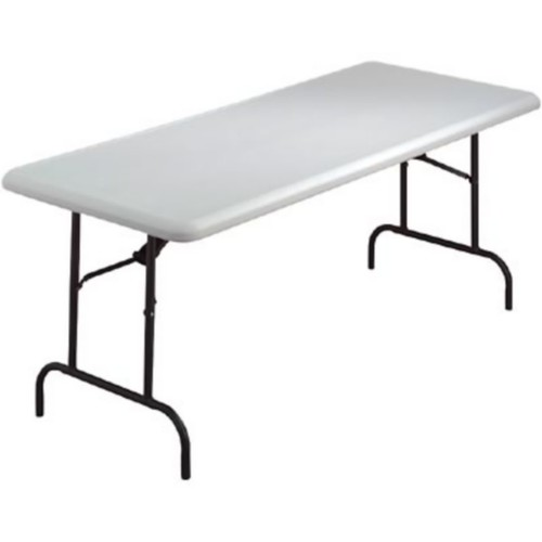 Iceberg IndestrucTables TOO 1200 Series Folding Table, 96x30