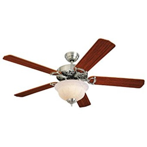 Monte Carlo 5OR52EPD-L, Ornate Elite Ceiling Fan with Light, 52