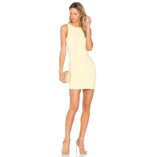 LIKELY Sleeveless Manhattan Dress in Buttercup