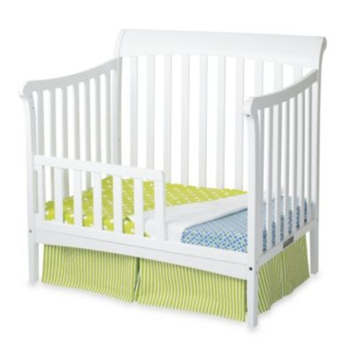 Child Craft Coventry Toddler Guard Rails for Convertible Mini Cribs in White