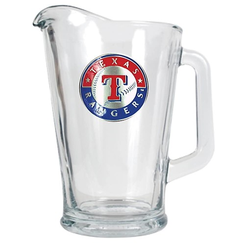 Texas Rangers Glass Pitcher