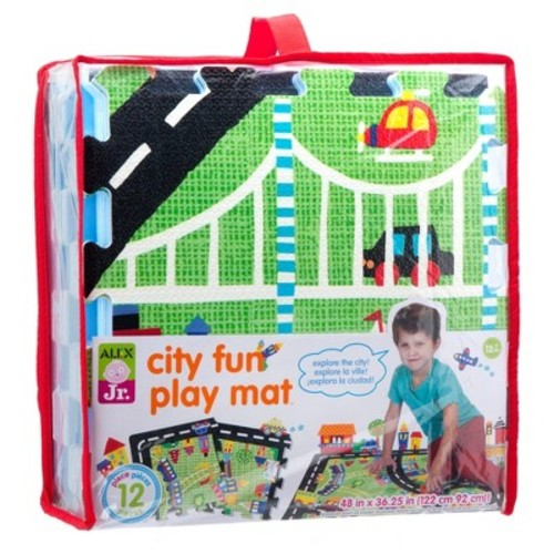 ALEX Toys ALEX Jr. City Fun Play Mat 12pc