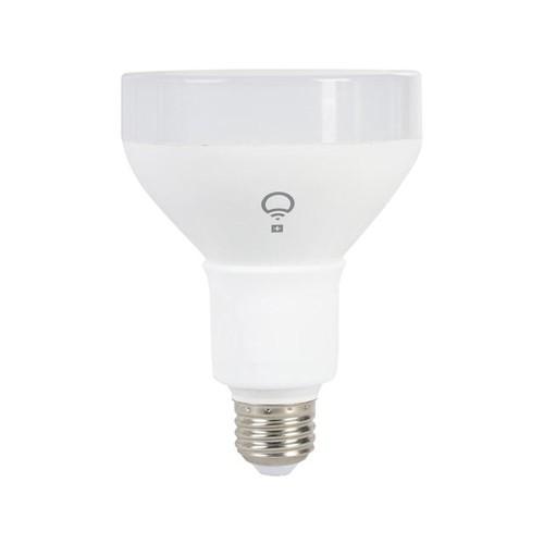 LIFX + E26 BR30 Wi-Fi Smart Color LED Light Bulb w/ Infrared for Night Vision, 1100 Lumens, 16 Million Colors
