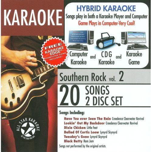 Karaoke: Southern Rock [Audio Stream Karaoke] [CD]