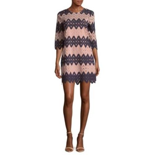 BCBGMAXAZRIA - Jewelneck Knit Dress