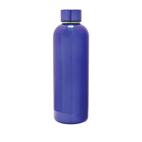 Blue 25 oz. Exquis Rounded Double Wall Bottle