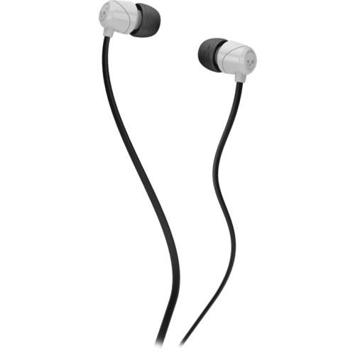 Skullcandy Jib In-Ear Noise-Isolating Earbuds, Lightweight, Stereo Sound and Enhanced Base, Wired 3.5mm Jack Connectivity, White [White]
