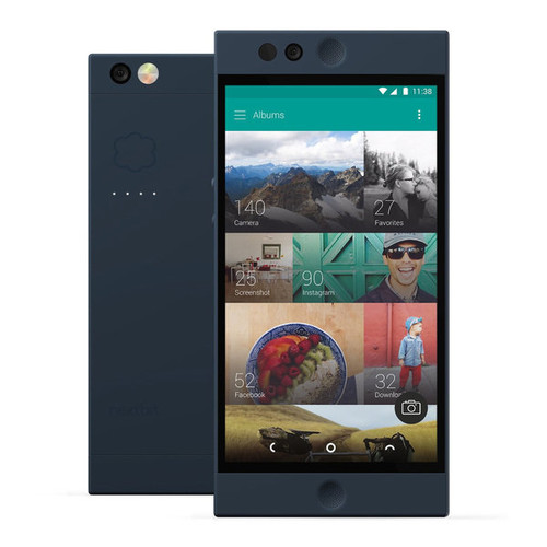Nextbit Robin NB-RG01 Unlocked GSM Smartphone, Midnight + SHARKK Flex 2o Wireless Bluetooth WaterProof Headphones (Value Bundle)