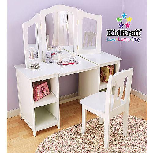 KidKraft 13018 Deluxe Vanity & Chair Set