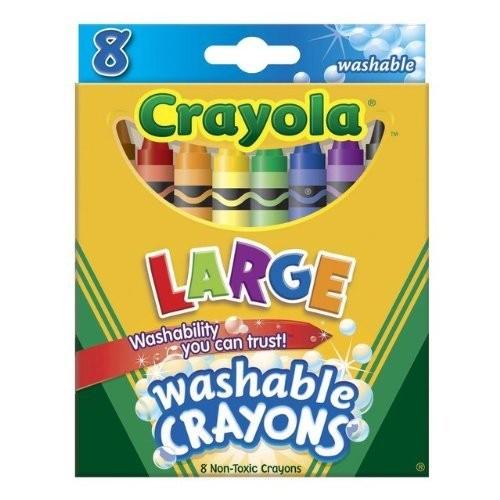 Crayola Large Washable Crayons [12]