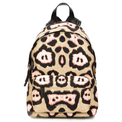 GIVENCHY Leopard Print Backpack