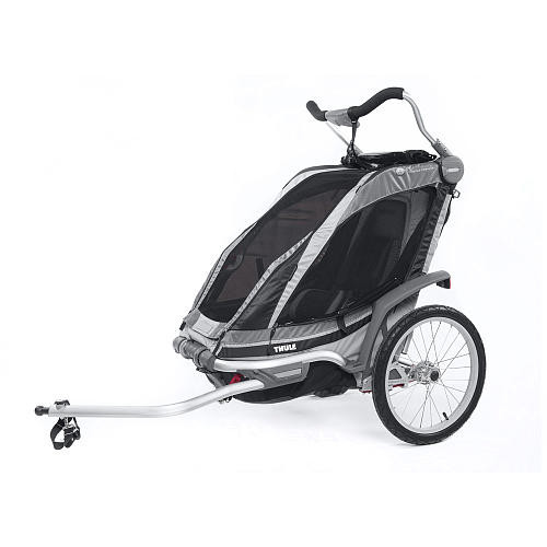 Thule Active with Kids Chariot Chinook 1 Multi-Sport Child Carrier - Charcoal
