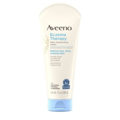Aveeno Eczema Therapy Moisturizing Cream For Sensitive Skin - 7.3oz