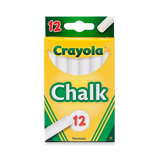 Crayola 12-Piece Children's Chalk