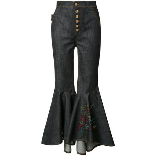 ELLERY Hysteria Crop Flare Jean