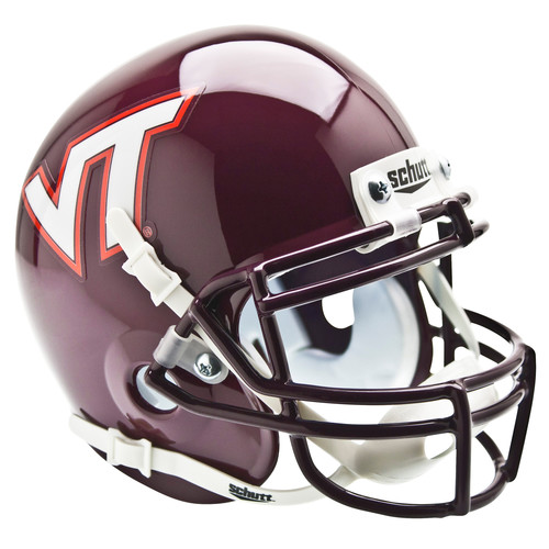Schutts Sports Virginia Tech University Hokies NCAA Mini Helmet