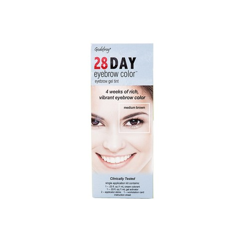Godefroy 28 Day Eyebrow Color, Medium Brown