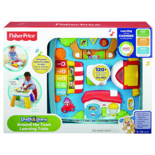 Fisher -Price Laugh & Learn Around the Town Learning Table