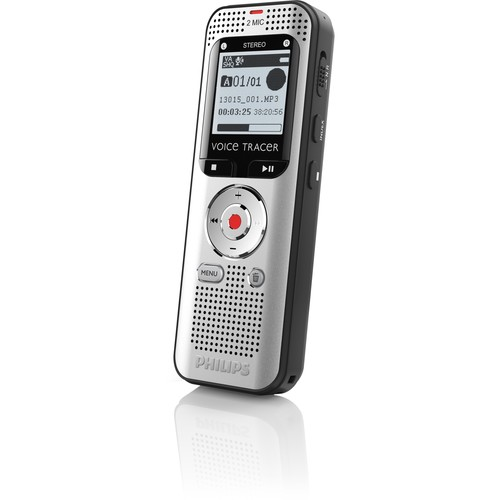 Philips DVT2000 Voice Tracer Digital Recorder for Conversation Recording