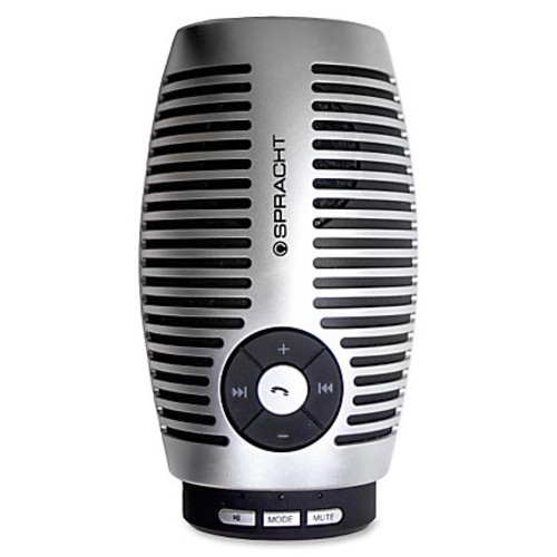 Spracht Metro Link Bluetooth Conference Speaker - Bluetooth - Microphone, USB Charging Port, Wireless Audio Stream, Echo Cancellation, Noise Reduction