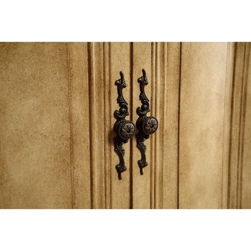 Elegant Lighting Antique Beige 2 Door Vanity Cabinet