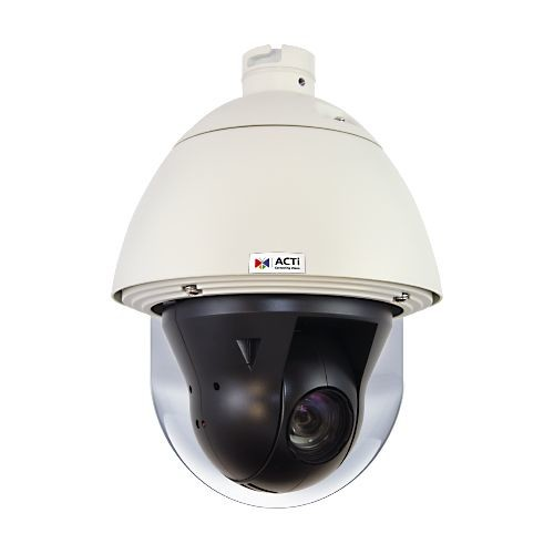 ACTI 4MP Speed Dome Camera - Outdoor, 30fps, Night Vision, Advanced WDR - I910