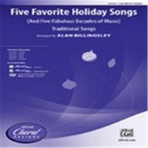 Alfred Five Favorite Holiday Songs (LFR686)