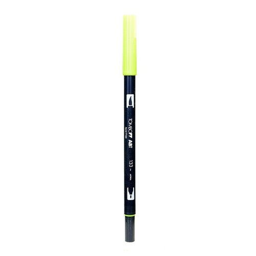 Tombow Chartreuse Dual-end Brush Pen (Pack of 12)