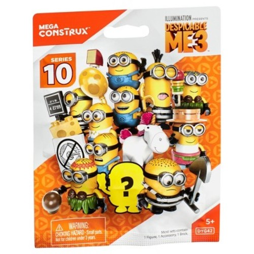 Mega Construx Despicable Me 3 Blind Pack - Styles May Vary