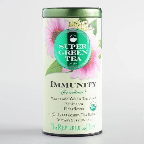 The Republic of Tea Super Green Tea Immunity Blend 36 Count