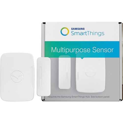Samsung - SmartThings Multipurpose Sensor - White