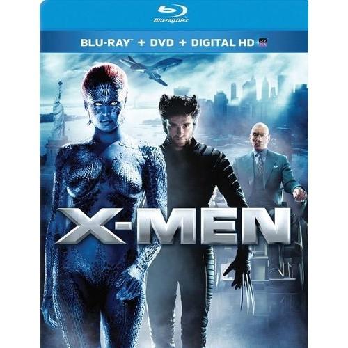 X-Men [2 Discs] [Includes Digital Copy] [UltraViolet] [Blu-ray/DVD]
